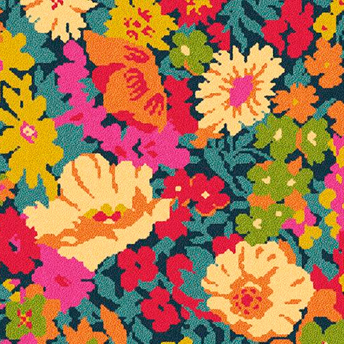 Quirky B Liberty Fabrics Flowers of Thorpe Summer Garden